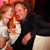 Nina Petri und ihr Freund Christoph Benkelmann genießen das Essen im Louis C. Jacob