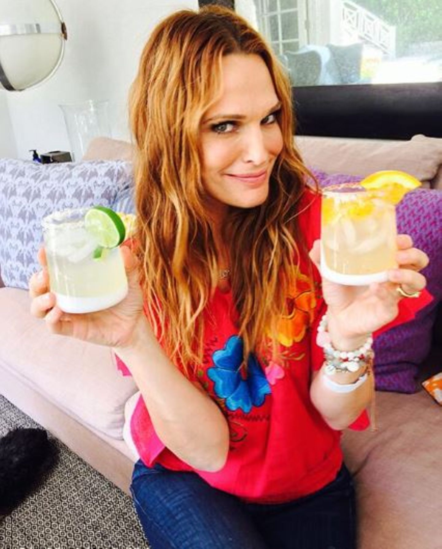Molly Sims hat die passenden Maragrita Rezepte für einen heißen Sommer parat.