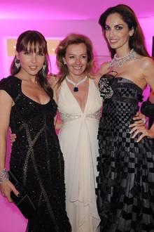 """Elsa Pataky, """"Chopard-""""Chefin Caroline Gruosi-Scheufele und Eugenia Silver glänzen mit dem Schzmuck um die Wette."""