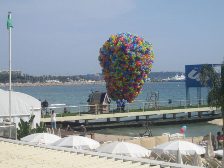 Carlton Beach: Vorbereitung für die große Party.