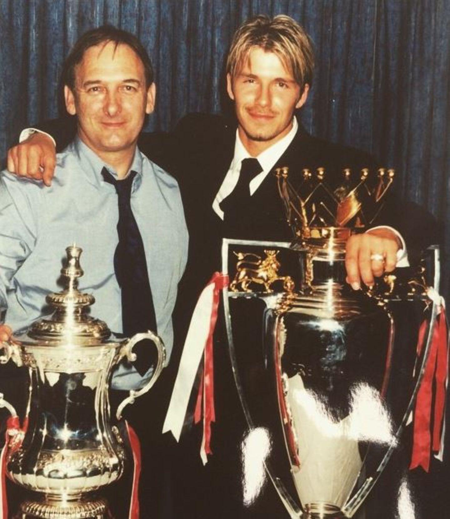 David Beckham dankt seinem Vater für seine Unterstützung.