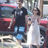 14. April 2013: Hayden Christensen und Rachel Bilson urlauben gemeinsam auf Barbados.