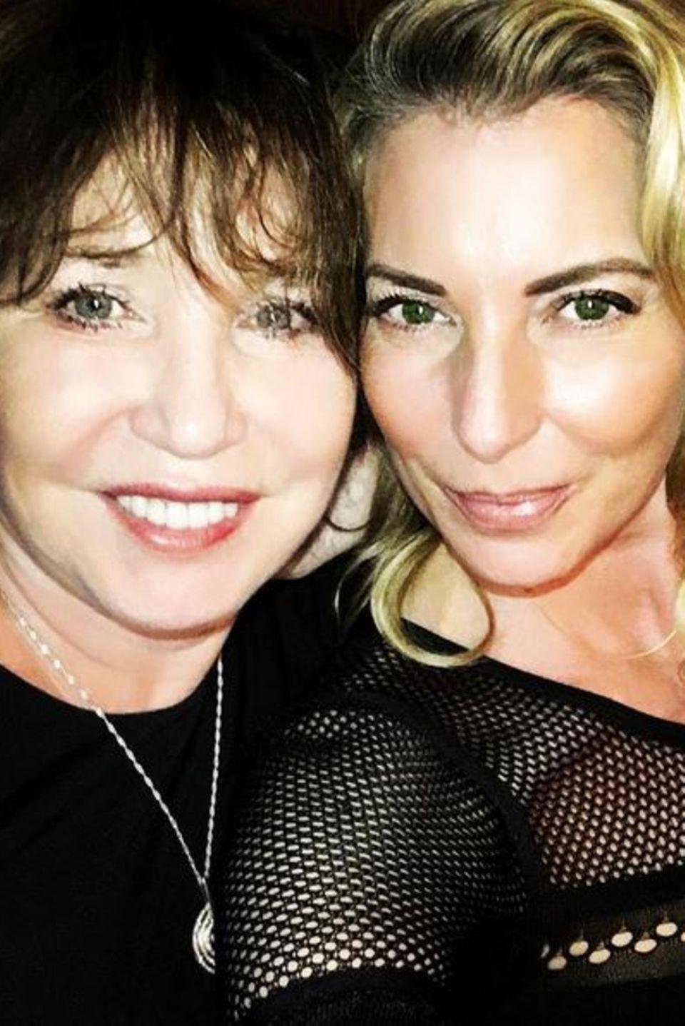Giulia Siegel gratuliert ihrer Mutter Dunja mit diesem schönen Foto zum Geburtstag.