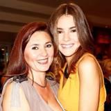 Jetzt wird einiges klar, die Gene hat Stefanie Giesinger definitiv von ihrer hübschen Mutter.