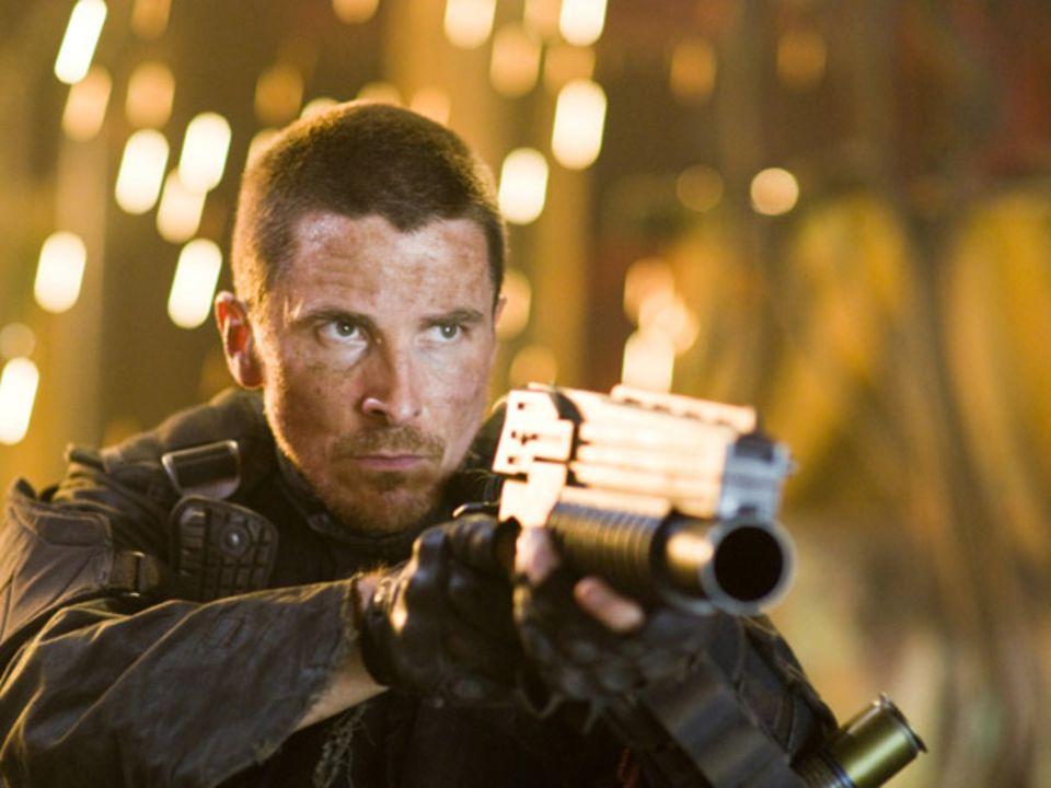 Christian Bale spielt den Anführer der menschlichen Rasse: John Connor soll, der Zukunft zu Folge, die Menschen zum Sieg führen.
