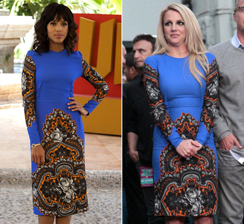 Kerry Washington und Britney Spears haben beide an diesem Kleid von Stella McCartneys Gefallen gefunden.