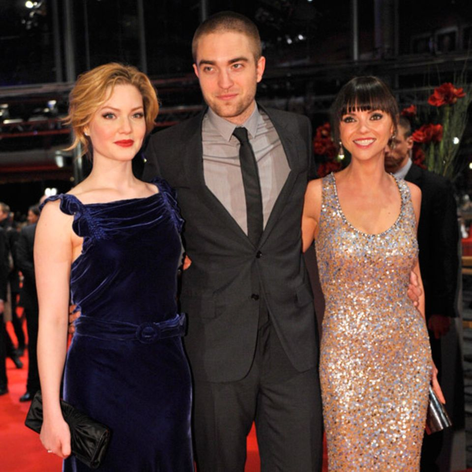 Hollywood-Glamour in Berlin: Holliday Grainger, Robert Pattinson und Christina Ricci auf dem roten Teppich