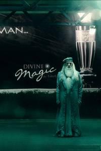 Professor Dumbledore taucht plötzlich auf.