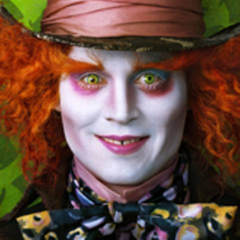 Alice im Wunderland - Johnny Depp