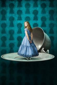 Alice im Wunderland: Alice erlebt allerlei skurile Dinge in der Fantasiewelt.