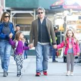 November 2015  Die Zwillinge Tabitha und Marion halten Sarah Jessica Parker und ihren Mann Matthew Broderick ganz schön auf Trab.