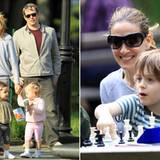 Mai 2011: Sarah Jessica Parker und Matthew Broderick genießen es, Zeit mit ihren Kindern zu verbingen. Mit den Zwillingen Marion