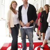 "Nationalkicker Christoph Metzelder mit neuer Freundin Marie Wellmann (PR-Chefin des Hotels ""The Regent Berlin"")."
