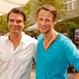 """Gala-Anzeigenleiter André Pollmann und Thorsten Link von """"Diesel""""."""