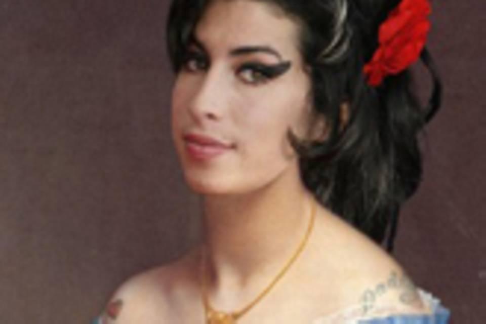 Stars als Gemälde - Amy Winehouse
