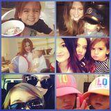 Dezember 2013  Khloe Kardashian gratuliert ihrem Neffen Mason über Instagram.