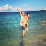 Dezember 2013  Ryan Sweeting macht mit seiner Verlobten Kaley Cuoco Liebesurlaub auf den Bahamas.