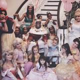 Dezember 2013  Der Traum aller Mädchen: Der Rapper Sean Combs alias P. Diddy schmeißt zum siebten Geburtstag seiner Zwillinge Jessie und D'Lila eine Prinzessinnen-Kostümparty.