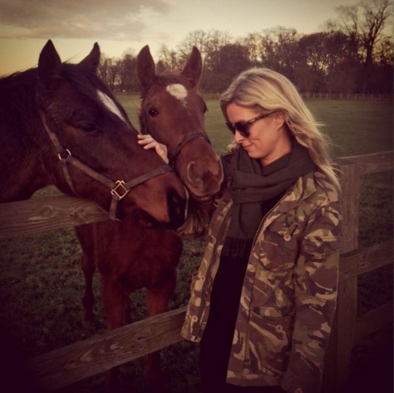 """Dezember 2013   """"Irgendwo auf dem Land in Großbritannien"""", schreibt Nicky Hilton zu diesem stimmungsvollen Foto auf Instagram."""