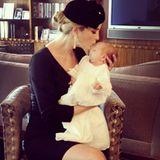 Oktober 2013  Ivanka Trump feiert die jüdische Brit Mila ihres eine Woche alten Sohnes Joseph.