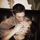 November 2013  Elisabetta Canalis zeigt sich in ihrem Instagram-Profil frisch verliebt.
