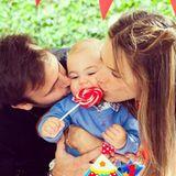 Model Alessandra Ambrosio und ihr Partner Jamie Mazur feiern den ersten Geburtstag ihres Sprösslings Noah.