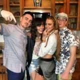 Oktober 2013  Dina Lohan teilt ein Foto ihrer Kinder Michael Jr., Aliana, Lindsay und Cody auf ihrem Instagramprofil.
