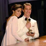"""Camila Alves und Preisträger Matthew McConaughey kommen zum """"Governors Ball"""" im """"Hollywood & Highland Center""""."""