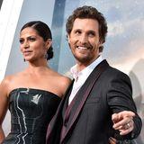 """26. Oktober 2014: Camila Alves und ihr Mann Matthew McConaughey besuchen gemeinsam die Premiere von """"Interstellar"""" in Hollywood."""