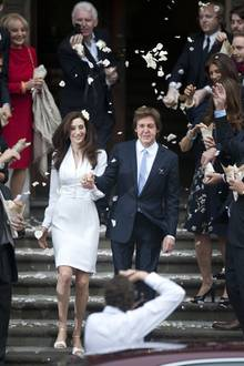 """Paul McCartney heiratet Nancy Shevell in der """"Old Marylebone Town Hall"""" in London."""