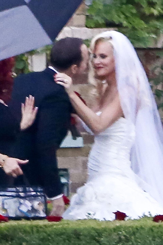 31. August 2014: Donnie Wahlberg und Jenny McCarthy geben sic in St. Charles, Illinois, das Jawort.