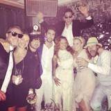 15. Juni 2014: Die US-Rapperin Eve hat ihren Verlobten Maximillion Cooper am Strand von Ibiza geheiratet und feiert das anschließend ausgelassen.