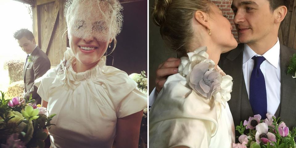 02. Juni 2016: Das frisch vermählte Paar Rupert Friend und Aimee Mullins feiern ein ganz besonderes Jubiläum, am 01. Mai 2016 haben die beiden heimlich, im engsten Kreis geheiratet.