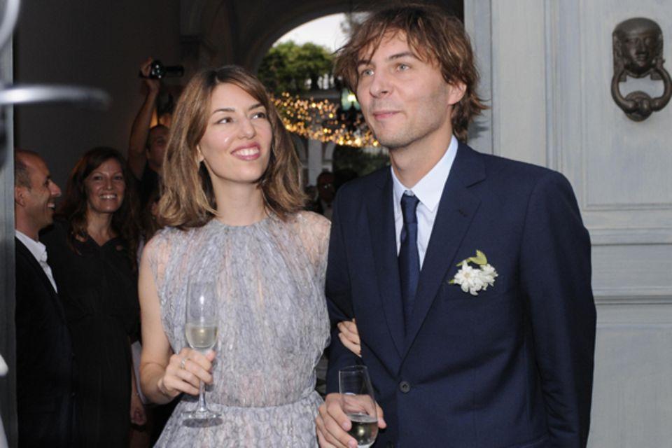 27. August 2011: Sofia Coppola heiratet Thomas Mars in ihrer süditalienische Heimatstadt Bernalda .