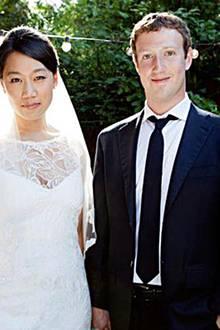 19. Mai 2012: Mark Zuckerberg heiratet seine College-Liebe Priscilla Chan.