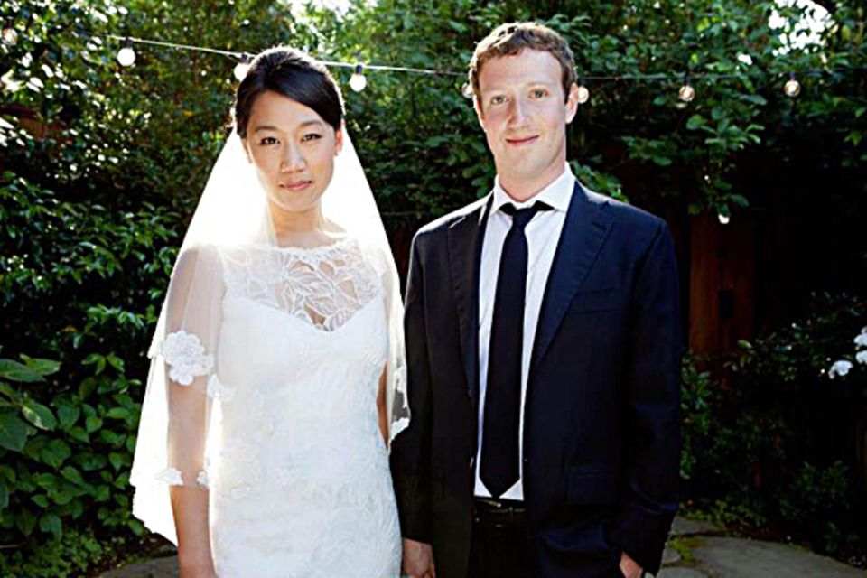 19. Mai 2012: Mark Zuckerberg heiratet seine College-Liebe Priscilla Chan.