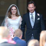 "15. Mai 2015: Ex-""Spice Girl"" Geri Halliwell heiratet den Formel-1-Teamchef Christian Horner."