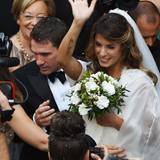 14. September 2014: Elisabetta Canalis heiratet in Italien ihren Brian Perri.