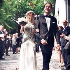 18. Mai 2015: Borussia Dortmunds Torhüter Roman Weidenfeller hat seiner langjährigen Freundin Lisa Rossenbach das Ja-Wort gegeben. Die kirchliche Trauung fand in Dortmund statt.
