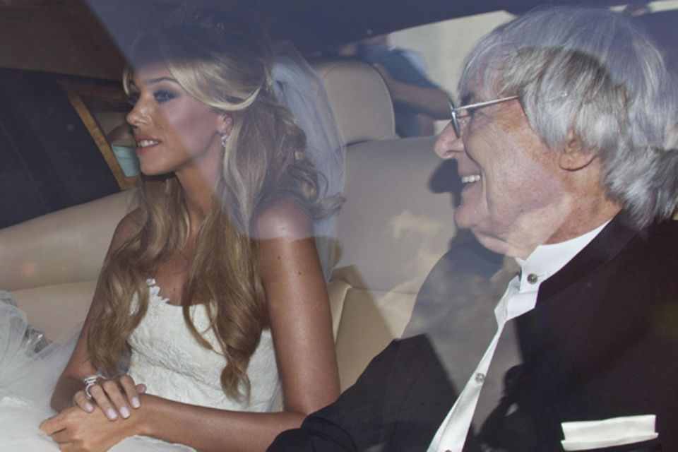 27. August 2011: Petra Ecclestone, Tochter von Formel 1-Boss Bernie Ecclestone heiratet in einem Schloss im italienischen Bracci