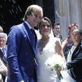 Traumhochzeit in Sevilla: Ivan Rakitic vom FC Barcelona heiratet seine Freundin Raquel.
