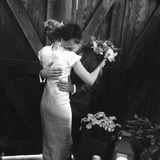 """2. Juni 2016: """"Homeland""""-Star Rupert Friend und Aimee Mullins haben sich klangheimlich vor einem Monat das Ja-Wort gegeben. Aber so ganz möchte der Schauspieler es doch nicht für sich behalten und teilt diesen besonderen Moment mit seinen Followern."""