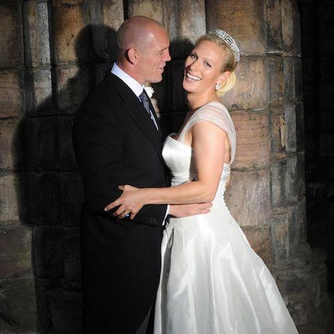 Hochzeit Zara Phillips, Mike Tindall: Bild 01