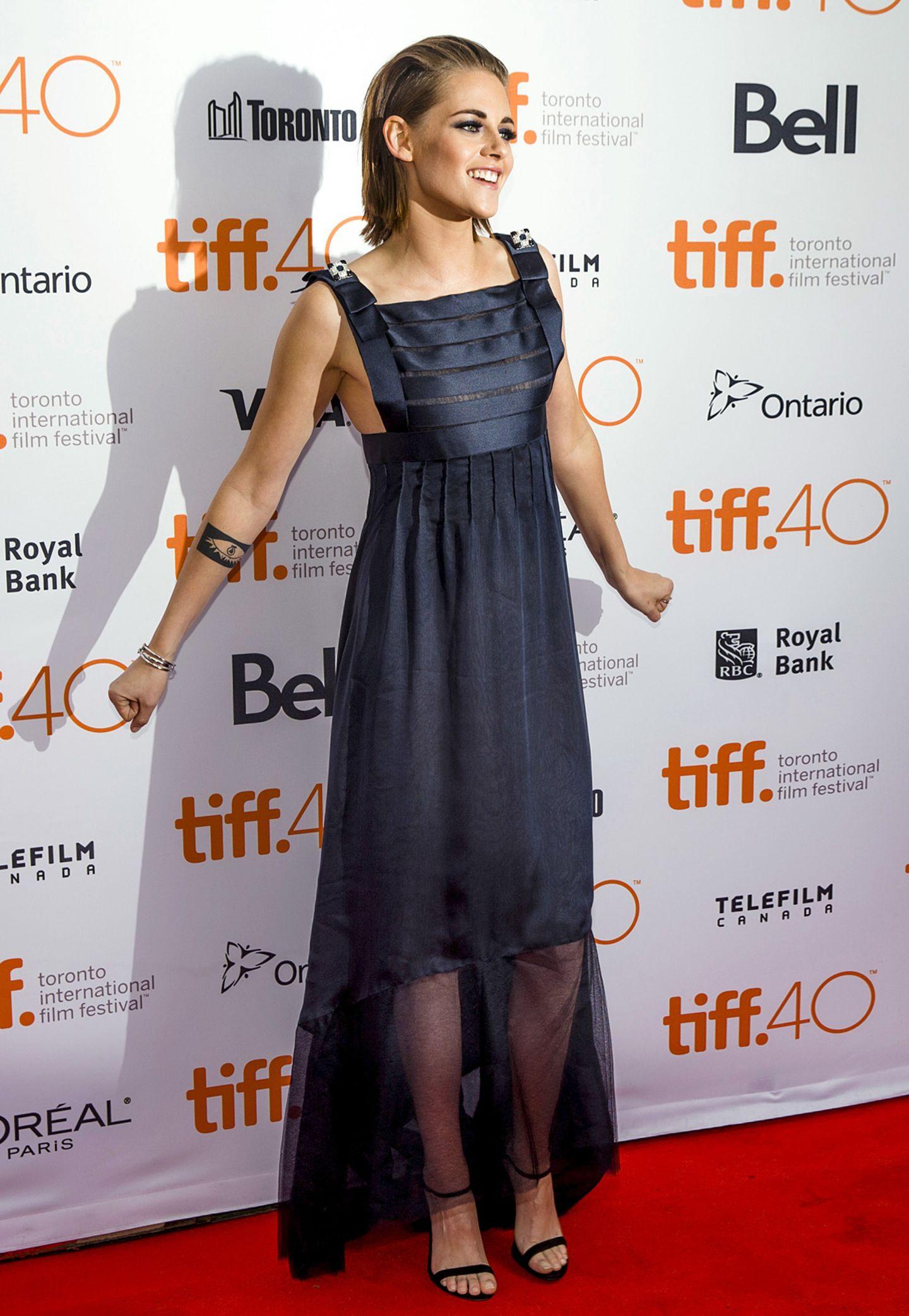 Asymmetrisch: Kristen Stewart in Chanel Couture