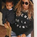 22. Oktober 2013: Beyoncé Knowles und Blue Ivy sind in Melbourne unterwegs.