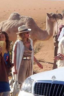 Sarah Jessica Parker, Kim Cattrall und Cynthia Nixon sind selbst in der Wüste immer Top-gestylt.