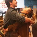 Da turteln sie wieder: Liam Hemsworth und Miley Cyrus.