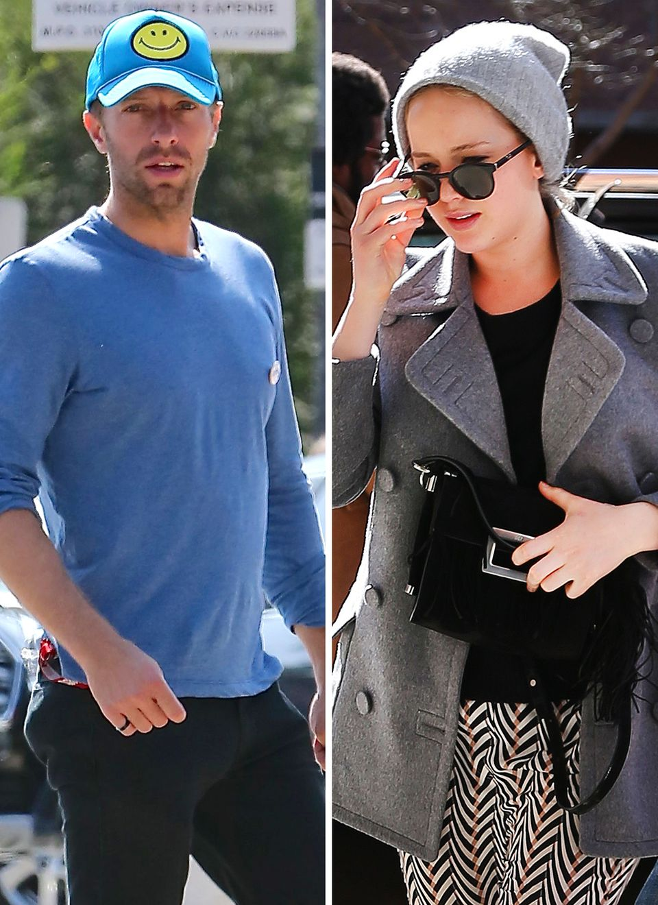 Chris Martin, Jennifer Lawrence