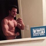 Rocco Stark hat vor 1,5 Monaten angefangen zu trainieren und freut sich über die ersten Erfolge.