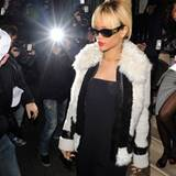 20. Februar 2012: Geburtstagskind Rihanna feiert ihren 24. Geburtstag in London.